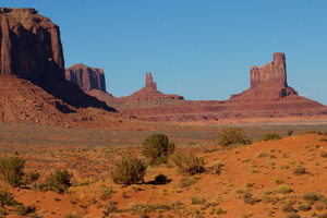 Thursday, Holbrook to Monument Valley