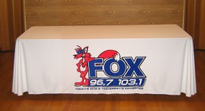 Fox Table Cover