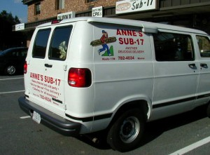 Annes Subs Van